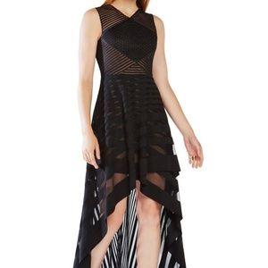 Awesome BCBGMaxAzria Keanna Gown, Black, Size 2